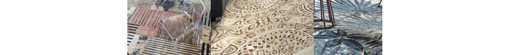 Dywany wełniane do salonu w kształcie koła | ŚliczneDywany.pl